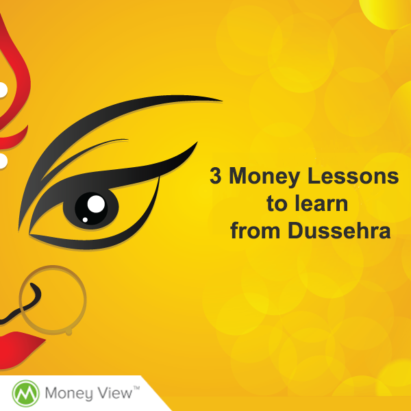 3 Money Lessons to learn from Dussehra